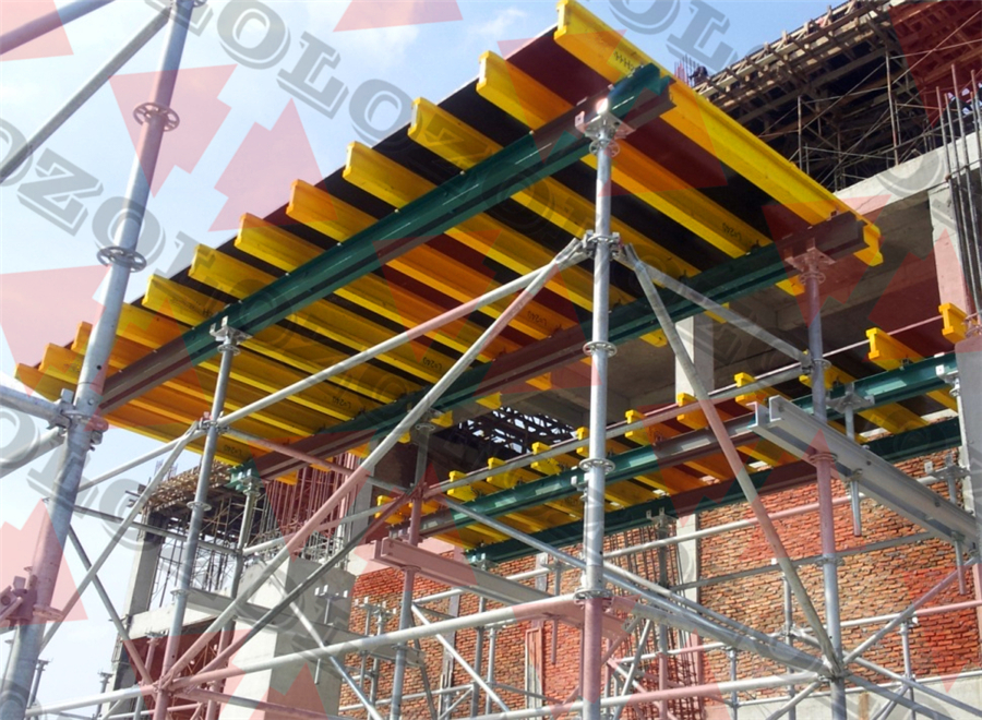 Pre-assembled table slab formwork