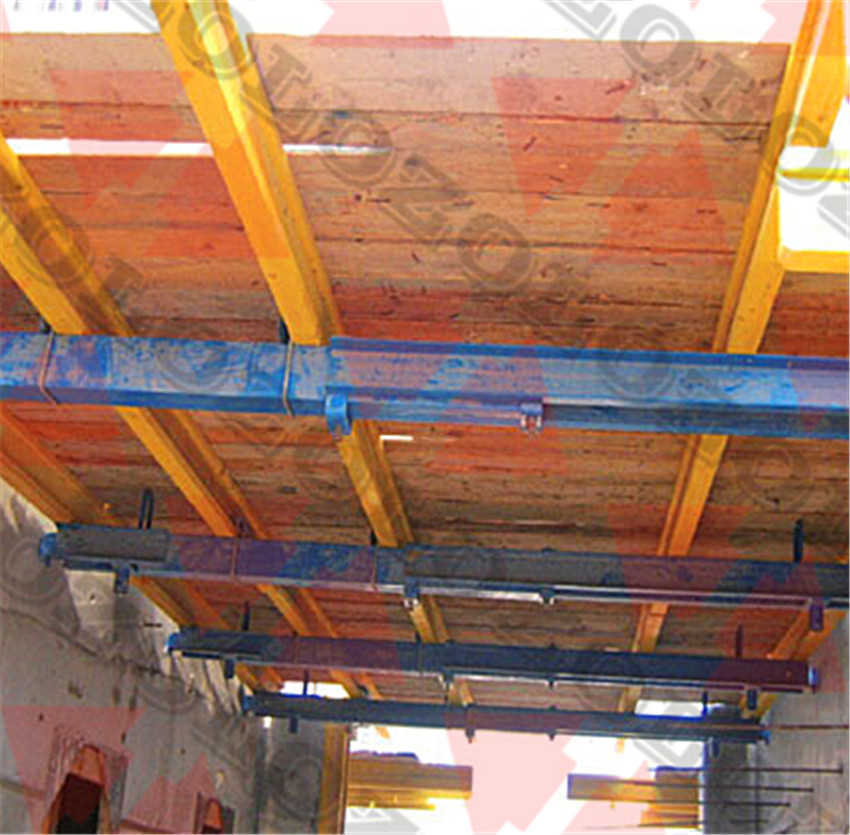 Platform for The Support of Formwork in Shafts