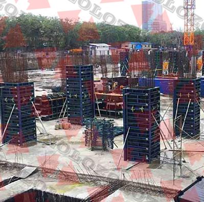 GK120 Steel Frame Panel Formwork System - Zolo Formwork
