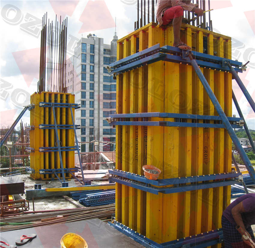 Timber Beam Wall&Column Formwork