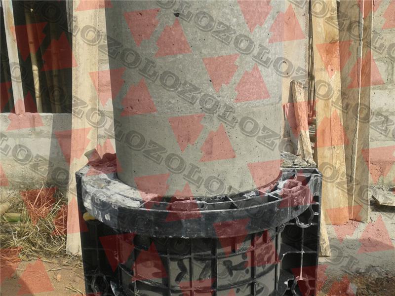 plastic round column formwork5